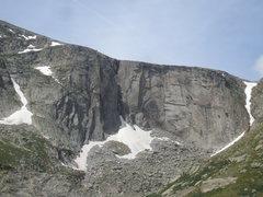 Rock Climbing Photo: The Black Wall. Photo: Bob Horan Collection.