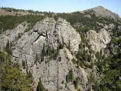 Rock Climbing Photo: Upper Dream granite, photo: Bob Horan Collection.
