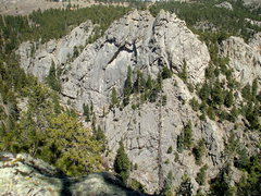 Rock Climbing Photo: The Lost Angel Formation, photo: Bob Horan.