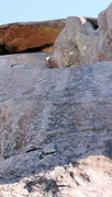 Rock Climbing Photo: Science Friction, located in middle of photo