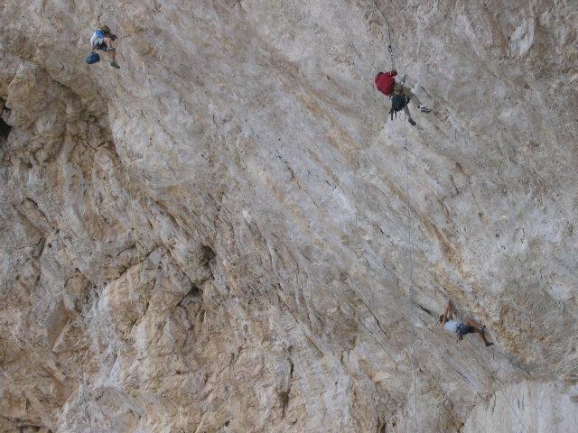 Sharma on Jumbo Love (5.15b), Clark Mountain