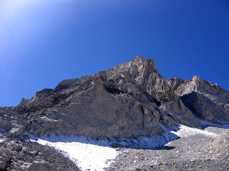View of the NE ridge.