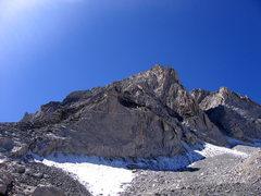 Rock Climbing Photo: View of the NE ridge.