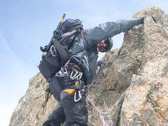 Rock Climbing Photo: Arete in the Alps