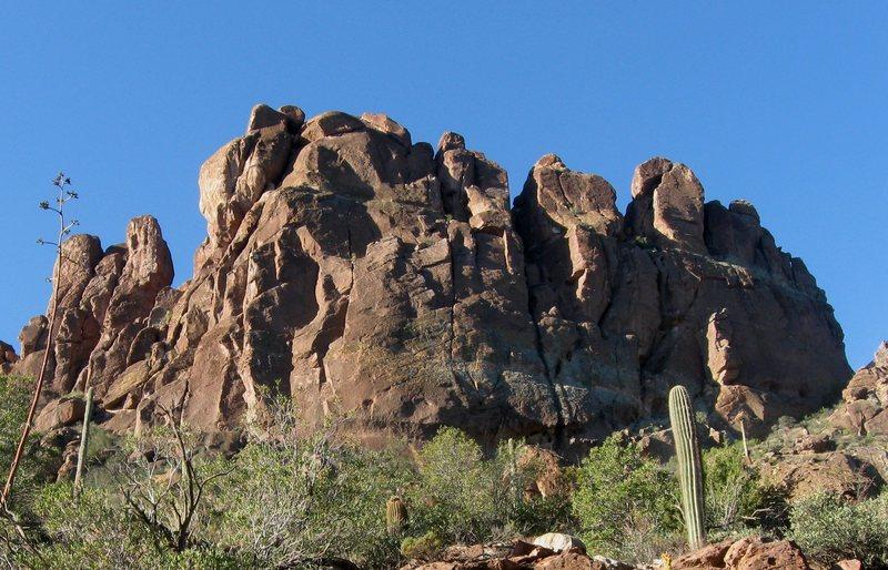 Bark's Canyon Wall