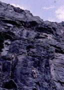 Rock Climbing Photo: Autumn in autumn, photo: Bob Horan.