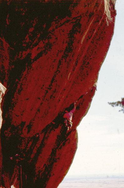 Rock Climbing Photo: BH on the Five Year Plan.