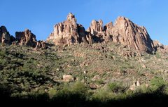 Rock Climbing Photo: One more of Bark's Canyon Wall, etc.