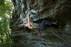 Rock Climbing Photo: Manifest Destiny may not be 5.12a for those of ave...