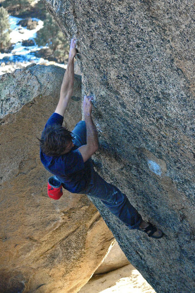 Rock Climbing Photo: Nothing but solitude at Dale's Camp