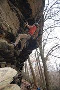 Rock Climbing Photo: Nice day at Allenbrook.