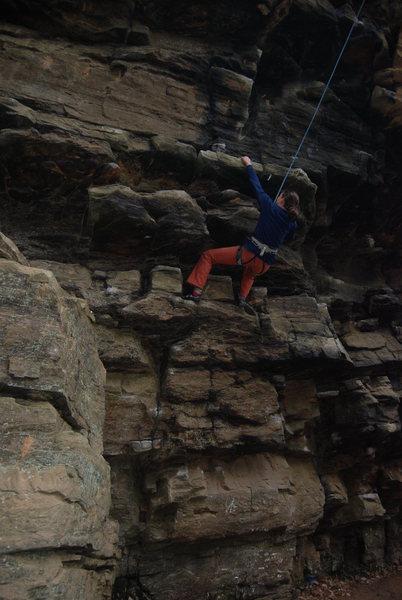 Rock Climbing Photo: Paige at Allenbrook.