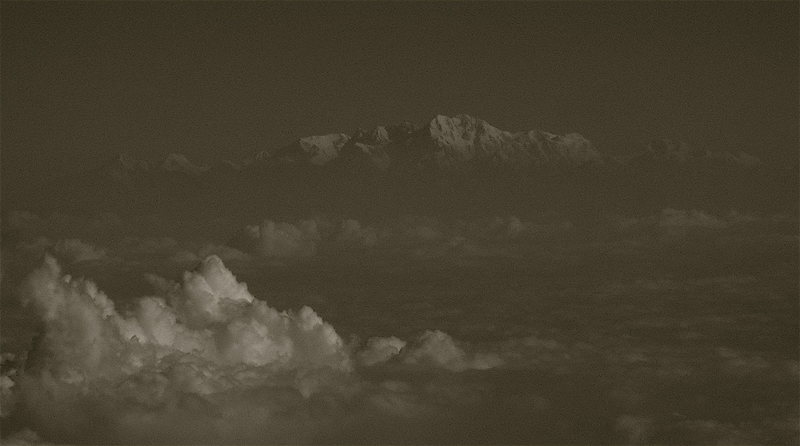 Rock Climbing Photo: Aerial view of the Tirich Mir Massif