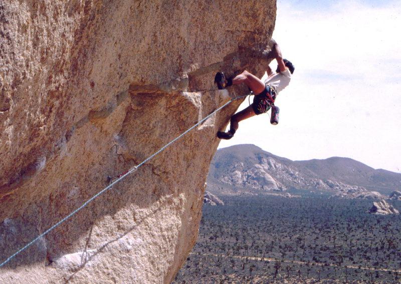 Rock Climbing Photo: Bob Horan on Sole Fusion.