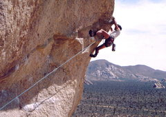 Rock Climbing Photo: Bob Horan on Sole Fusion.