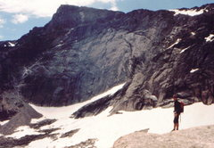 Rock Climbing Photo: Approaching the magnificent NW face, photo: Bob Ho...