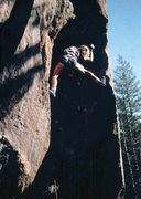 Rock Climbing Photo: Bruce Bundy on early attempts to free climb Surf's...