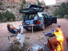 Rock Climbing Photo: San Rafael Swell Camp