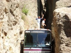 Rock Climbing Photo: The Needles Bus Traverse