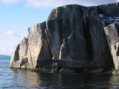 Rock Climbing Photo: Catcheratcha area of Stillwater. There are 10 clim...
