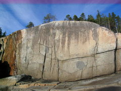 Rock Climbing Photo: Dead Point bouldering at Stillwater. There are thr...