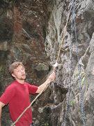 Rock Climbing Photo: stick it