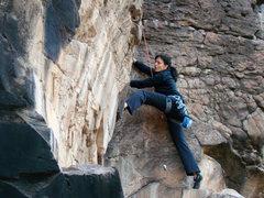 Rock Climbing Photo: Crawdad Canyon, Nov 2008