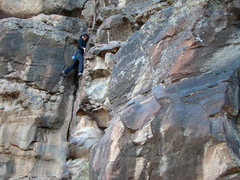 Rock Climbing Photo: Crawdad Canyon, Nov 2008