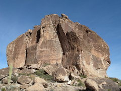 Rock Climbing Photo: Bypass (5.7) goes up big left-facing corner and th...