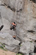 Rock Climbing Photo: Country Club Crack ,Boulder Canyon, Colorado Photo...
