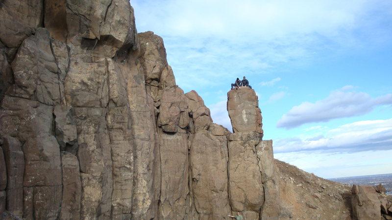 "Rock Climbing Photo: ""The Mummy""."