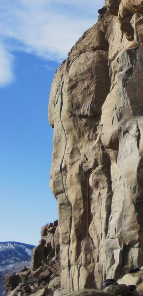 "Rock Climbing Photo: ""Kleptocracy""."