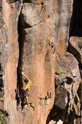 Rock Climbing Photo: John Groth on Raindance