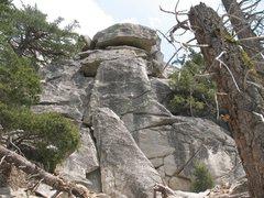 Rock Climbing Photo: Lunch Rock (west face), Tahquitz Rock