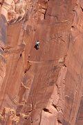 Rock Climbing Photo: A rock climber