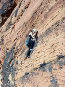 Rock Climbing Photo: my onsight lead