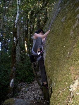 Rock Climbing Photo: Castle Rock Area
