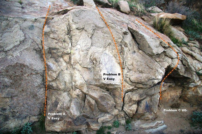 Borson's Wall Far Right Topo