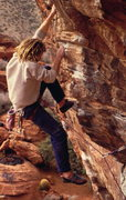Rock Climbing Photo: The White Rastafarian on Fear and Loathing, photo:...