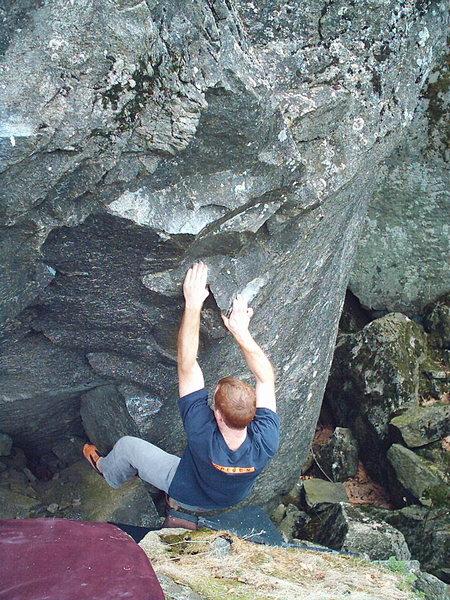 Rock Climbing Photo: Quinn on BFA