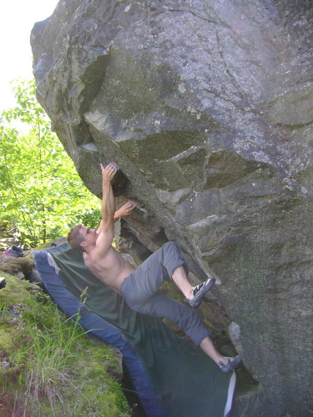 Nate on his Unamed V7