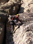 Rock Climbing Photo: Fist pitch