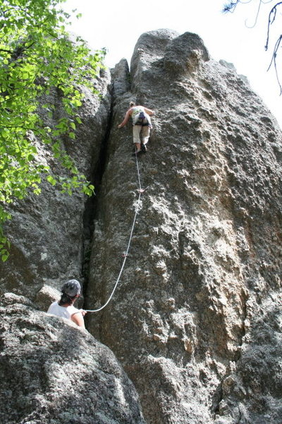 "Rock Climbing Photo: The Queen thought it was kinda ""pumpy""....."