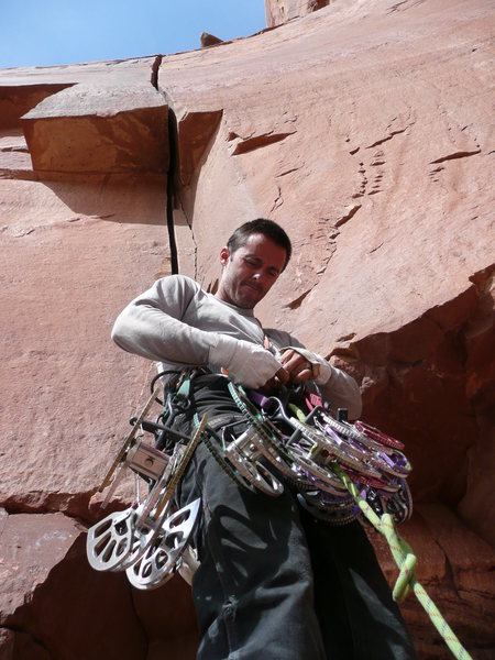 Rock Climbing Photo: Wide gear