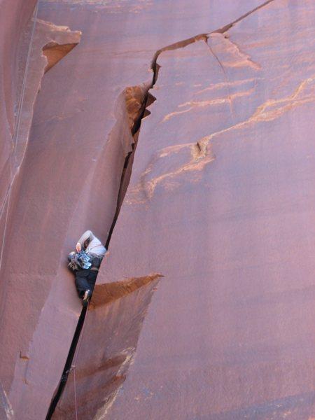 Rock Climbing Photo: #4 section