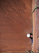 Rock Climbing Photo: Dirty (enjoyable, none the less), cruxy OW on p2. ...