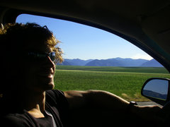 Rock Climbing Photo: i really enjoyed this drive to the tetons... can't...