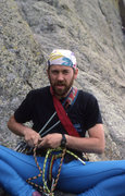 Rock Climbing Photo: Rick Kollath....Philosopher,Illustrator, and Fashi...
