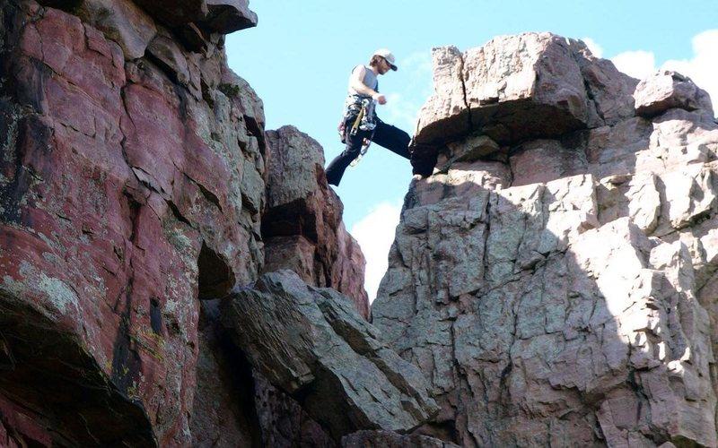 Rock Climbing Photo: Shot by JLe