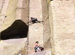 Rock Climbing Photo: McCarthy west face variant. A crotch ripping endur...